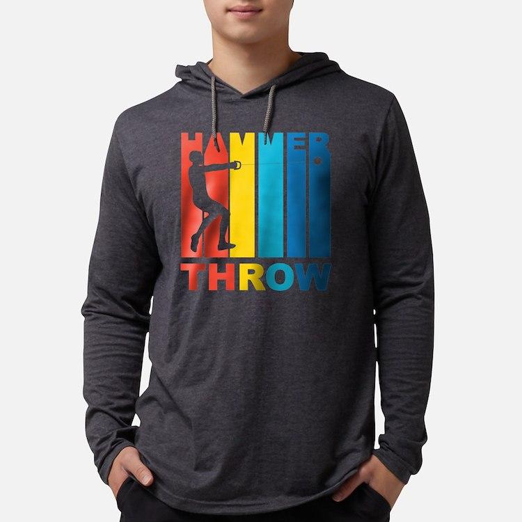 Vintage Hammer Throw Graphic Long Sleeve T-Shirt