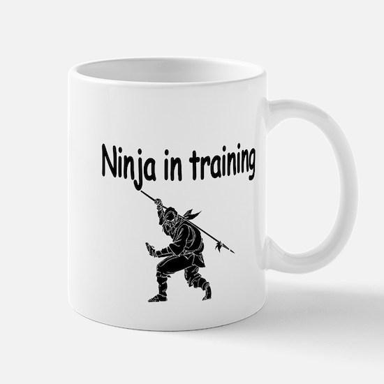 Ninja in training Mugs
