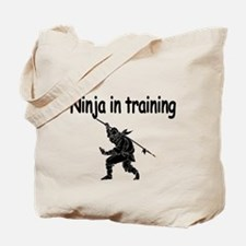 Ninja in training Tote Bag