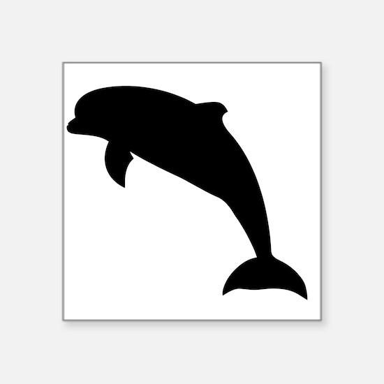 Dolphin Silhouette Sticker
