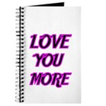 LOVE YOU MORE 5 Journal