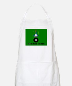 SINK THE 8 BALL! BBQ Apron