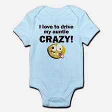 I Love To Drive My Auntie Crazy Body Suit