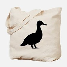 Duck Silhouette Tote Bag