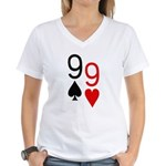Phil Hellmuth WSOP Women's V-Neck T-Shirt