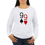 Phil Hellmuth WSOP Women's Long Sleeve T-Shirt