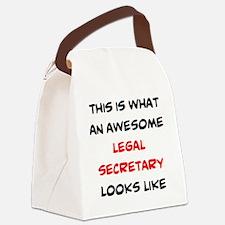 Unique Legal Canvas Lunch Bag