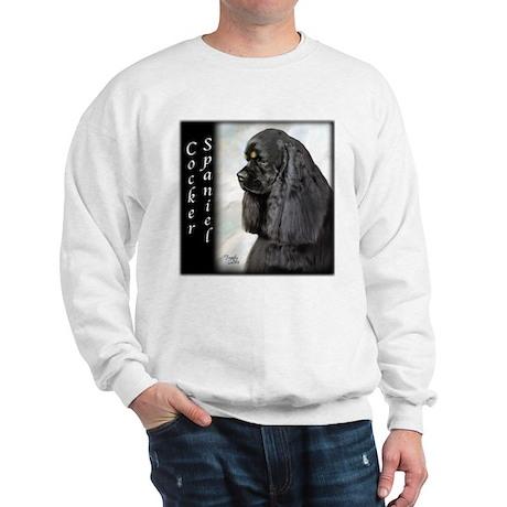 Cocker Spaniel-Black & Tan Sweatshirt