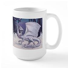 Snow Dragon Mugs