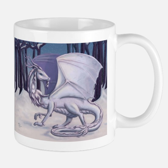Snow Dragon Mugs