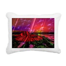 Solar Sun Rectangular Canvas Pillow