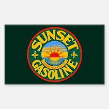 Sunset Gasoline Decal