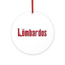 The Lomardo family Ornament (Round)