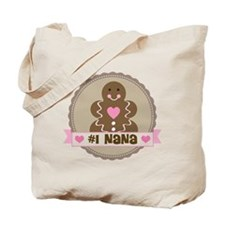 Number One Nana Tote Bag