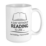 Book lovers Large Mugs (15 oz)