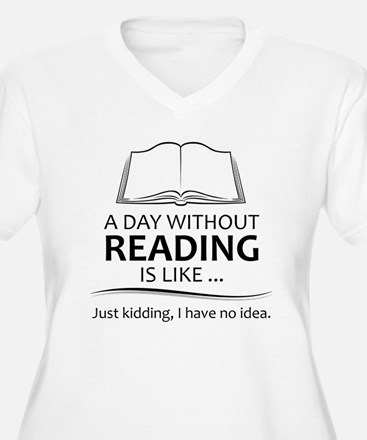 Gifts for Readers Plus Size T-Shirt