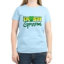 Irish Groom with shamrock T-Shirt