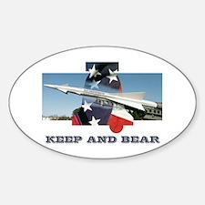 Keep And Bear Oval Decal