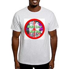 Make Love Not War Three Grace T-Shirt