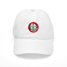 Make Love Not War Three Grace Baseball Cap