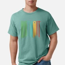 Vintage Detroit Cityscape T-Shirt