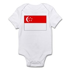 Cute Singapore pride Infant Bodysuit