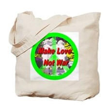 Funny I love making wishes Tote Bag