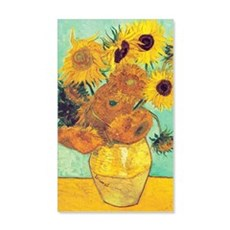 Sunflowers by Vincent Van Gogh Wall Decal