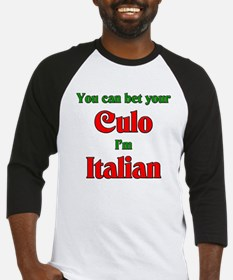 You Bet Your Culo I'm Italian Baseball Jersey
