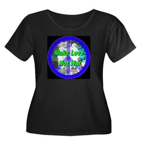 Help promote world peace with Women's Plus Size Sc