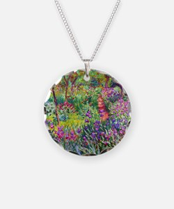 The Iris Garden by Claude Mo Necklace