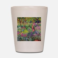 The Iris Garden by Claude Monet Shot Glass