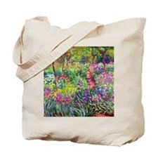 The Iris Garden by Claude Monet Tote Bag