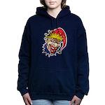 laughing evil clown.png Hooded Sweatshirt