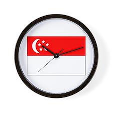Cute Flags Wall Clock