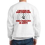 Evil Conservative Gun Control Sweatshirt