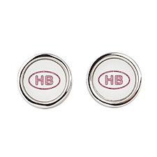 HB Pink Cufflinks