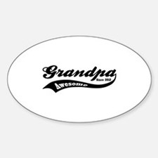 Awesome Grandpa Since 2012 Decal