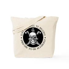 Admiring Ye Rigging Tote Bag