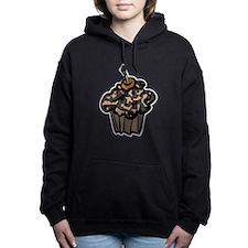 Camo Camouflage Cupcake Hooded Sweatshirt