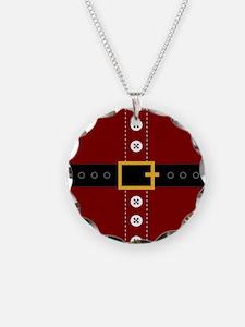Christmas Santa Claus Suit Necklace