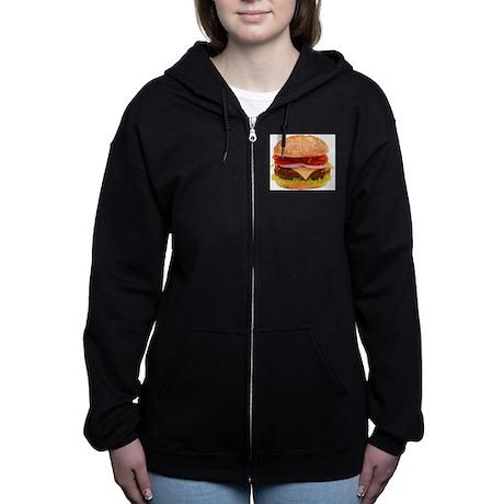 yummy cheeseburger Zip Hoodie