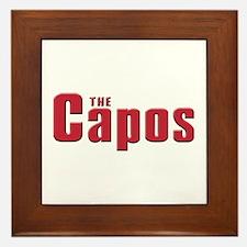 The Capo family Framed Tile