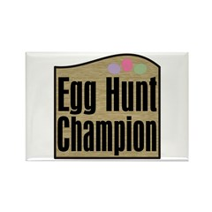 Easter Egg Hunt Champion Rectangle Magnet (10 pack