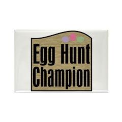 Easter Egg Hunt Champion Rectangle Magnet