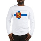 Finland Long Sleeve T-shirts