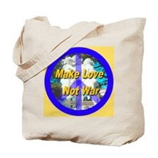 Make Love Not War King's Gold Tote Bag