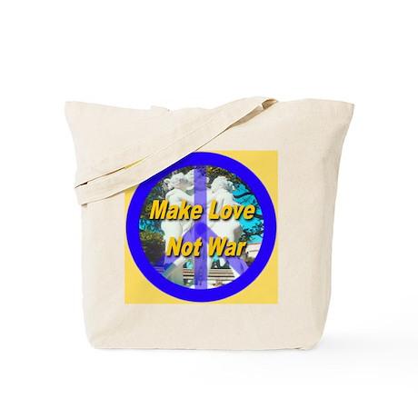 Make Love Not War King's Gold Tote Bag