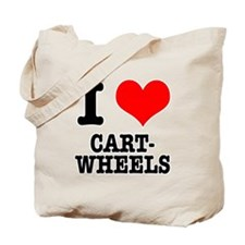 I Heart (Love) Cartwheels Tote Bag