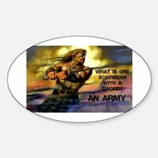 Scottish Army Decal
